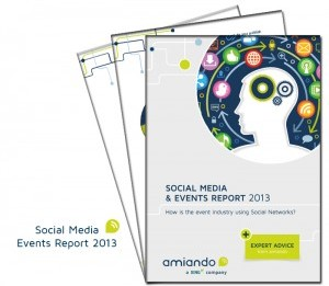 amiando Social Media & Events Report 2013