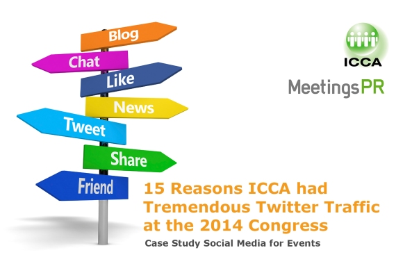 15 Reasons ICCA had tremendous Twitter traffic at the 2014 Congress